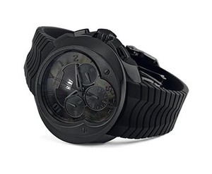 Franc Vila Franc Vila El Bandido Chronograph Grand Dateur Automatique Dark Side (SS / Black / Strap) Fva8ch