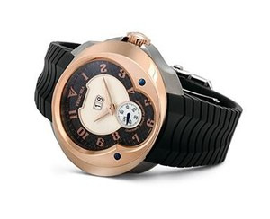 Franc Vila Franc Vila Grand Sport Alliance Quantieme Annual Grand Dateur Automatique (Titanium-RG / Black / Strap) FVa8Qa