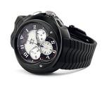 Franc Vila Franc Vila Grand Sport Chronograph Grand Dateur Automatique Black (SS / Black / Strap) Fva8ch