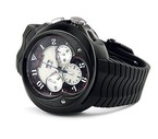 Franc Vila Franc Vila Grand Sport Chronograph Grand Dateur Automatique Black (SS / Black / Strap) Fva8ch