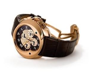 Franc Vila Franc Vila Grand Sport Chronograph Master Quantieme Automatique (RG / Brown / Strap) FVa9