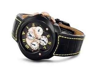 Franc Vila Franc Vila Grand Sport Chronograph Master Quantieme Automatique (SS / Black / Strap) FVa9