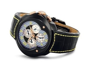 Franc Vila Franc Vila Grand Sport Chronograph Master Quantieme Automatique (SS / Blue / Strap) FVa9