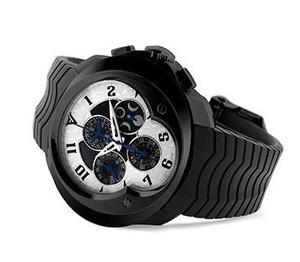 Franc Vila Franc Vila Grand Sport Chronograph Master Quantieme Automatique (SS /White / Strap) FVa9