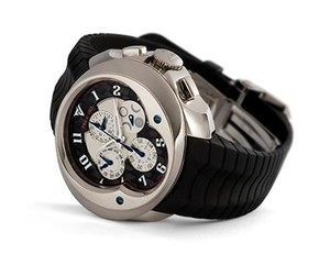 Franc Vila Franc Vila Grand Sport Chronograph Master Quantieme Automatique (WG / Black / Strap) FVa9