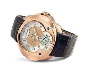 Franc Vila Franc Vila Haute Horlogerie Quantieme Annual Grand Dateur Automatique (RG / Champagne / Strap) FVa8Qa
