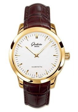 Glashutte Original Automatic (RG / Silver / Leather) 100-08-01-01-04