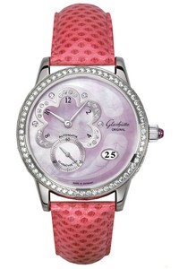 Glashutte Original Pink Passion (WG-Diamonds / Pink MOP / Leather) 90-01-52-52-04