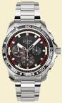 Glashutte Original Sport Impact Chronograph (SS / Black / SS ) 39-31-73-73-14