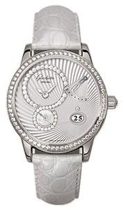 Glashutte Original White Crystal (WG / WG Guilloch / Leather) 65-01-50-50-04