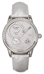 Glashutte Original White Crystal (WG / WG Guilloch / Leather) 65-01-50-50-04