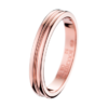 Boucheron Godron Pink Gold Small Wedding Band