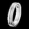 Boucheron Godron Platinum Small Wedding Band