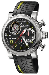 Graham Brawn GP Tourbillograph Black & Yellow (SS / Black-Yellow) 2BRTS.B03A.K66S