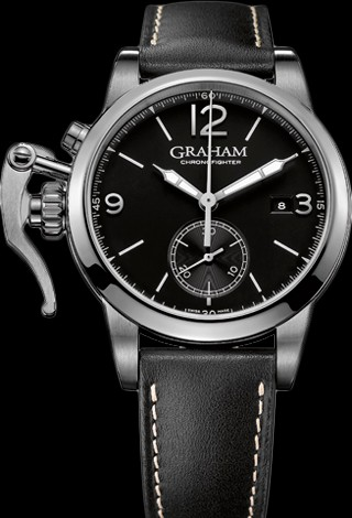 Graham Chronofighter 1695 1695 - Steel 2CXAS.B02A Strap