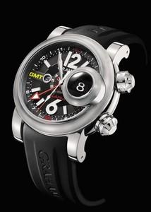 Graham Swordfish Grillo Alarm Black (SS/ Silver / Rubber) 2SWGS.B23A.K06B