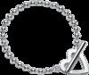 Браслет Gucci Silver Toggle Heart Bracelet YBA181447001