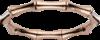 Браслет Gucci Bamboo Pink Gold Bracelet YBA246463003