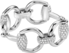 Браслет Gucci Horsebit White Gold Bracelet YBA305808001