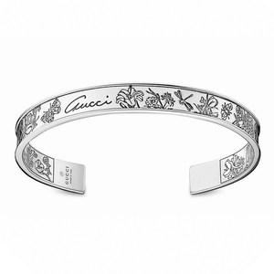 Браслет Gucci Silver Gucci Flora Bracelet YBA341950001
