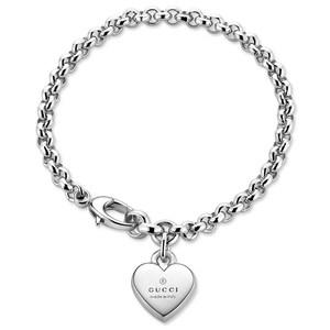 Браслет Gucci Silver Trademark Bracelet YBA356210001