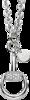 Ожерелье Gucci Horsebit White Gold Necklace YBB152831001