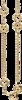 Ожерелье Gucci Horsebit Yellow Gold Necklace YBB153327001