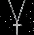 Ожерелье Gucci Silver Men Necklace YBB310484001