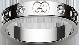 Кольцо Gucci Icon Ring YBC100881001
