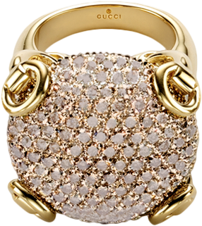 Кольцо Gucci Horsebit Cocktail Ring YBC160449002
