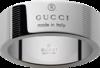Кольцо Gucci Silver Trademark Stripes Ring YBC163179001