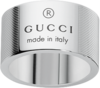 Кольцо Gucci Silver Trademark Stripes Ring YBC163197001