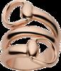 Кольцо Gucci Horsebit Pink Gold Ring YBC233961001