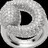 Кольцо Gucci Horsebit White Gold Ring YBC235069001