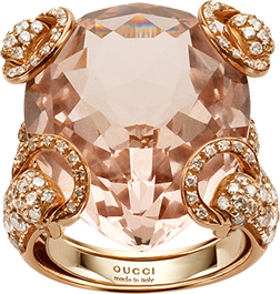 Кольцо Gucci Horsebit Cocktail Ring YBC235916002