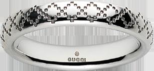 Кольцо Gucci Diamantissima White Gold Ring YBC272760001