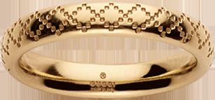 Кольцо Gucci Diamantissima Yellow Gold Ring YBC272760003