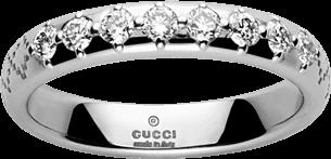 Кольцо Gucci Diamantissima White Gold Ring YBC272868001