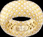 Кольцо Gucci Diamantissima Yellow Gold Ring YBC284722001