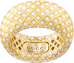 Кольцо Gucci Diamantissima Yellow Gold Ring YBC284722001