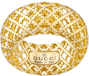 Кольцо Gucci Diamantissima Yellow Gold Ring YBC284900001