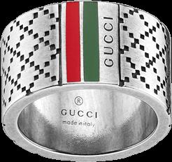 Мужское кольцо Gucci Silver Men Ring YBC295674001