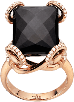 Кольцо Gucci Horsebit Cocktail Ring YBC297842001