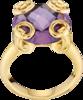 Кольцо Gucci Horsebit Yellow Gold Ring YBC298375001