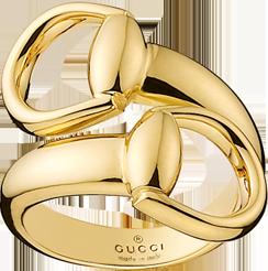 Кольцо Gucci Horsebit Yellow Gold Ring YBC325812001