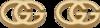 Серьги Gucci Icon GG Tissue Earrings YBD094074002