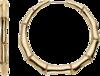 Серьги Gucci Bamboo Yellow Gold Earrings YBD190335001