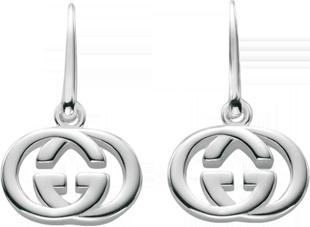 Серьги Gucci Silver Britt Earrings YBD223321001