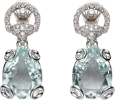 Серьги Gucci Horsebit Cocktail Earrings YBD235914001