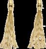 Серьги Gucci Bamboo Yellow Gold Earrings YBD285961001